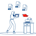 System and software solutions to store, manage, and track your organization's software or electronic documents.
