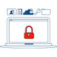 Security solutions to protect your organization's data, PCs, servers, network, and communication assets.